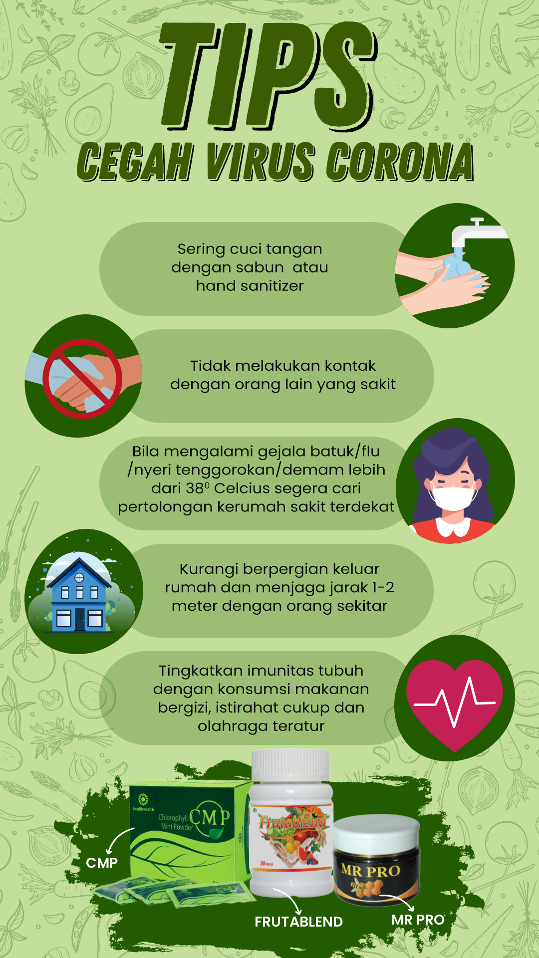 tips cegah virus corono